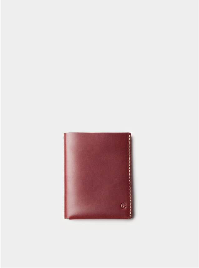Berry Ultra Slim Leather Wallet