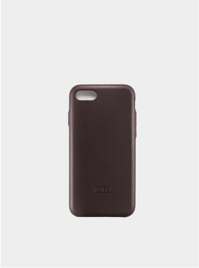Black Coffee iPhone 7/8 Leather Case