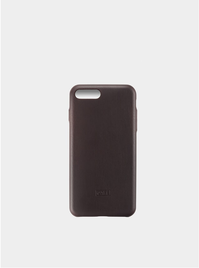 Black Coffee iPhone 7/8 Plus Leather Case