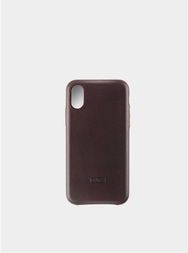 Black Coffee iPhone X/XS Leather Case