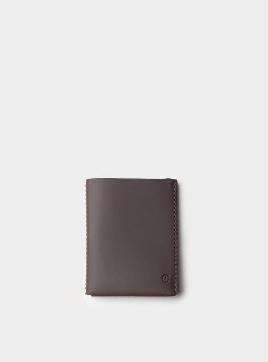 Black Coffee Ultra Slim Leather Wallet