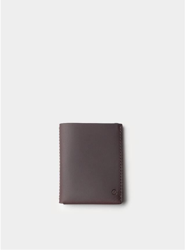 Black Coffee Ultra Slim Leather Wallet