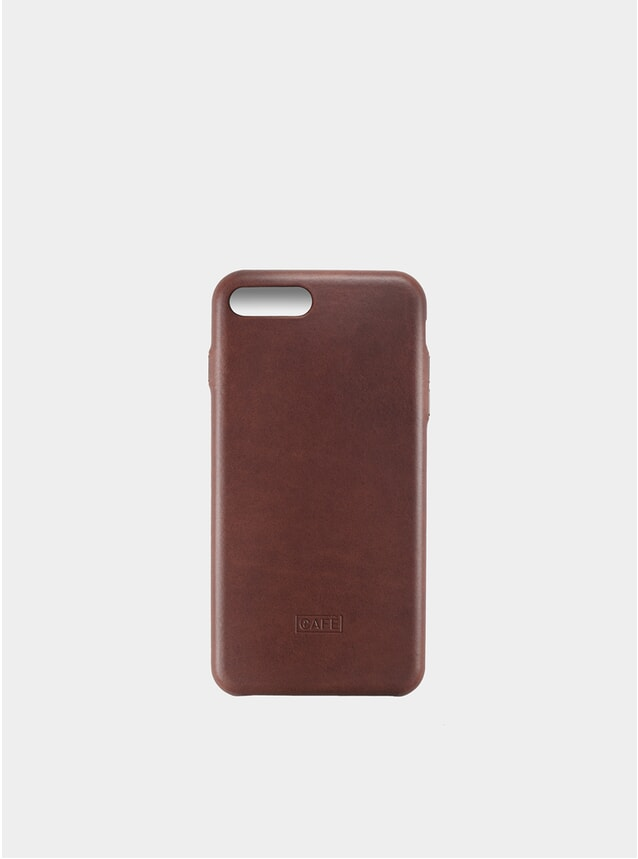 Case Brown iPhone 7/8 Plus Leather Case