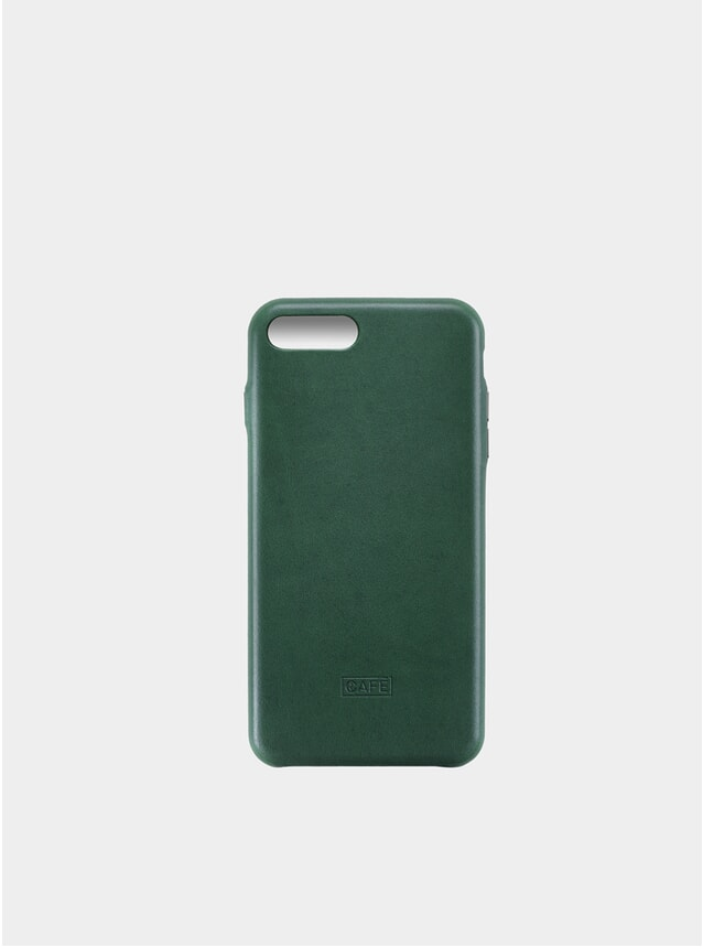 Greenery iPhone 7/8  Plus Leather Case