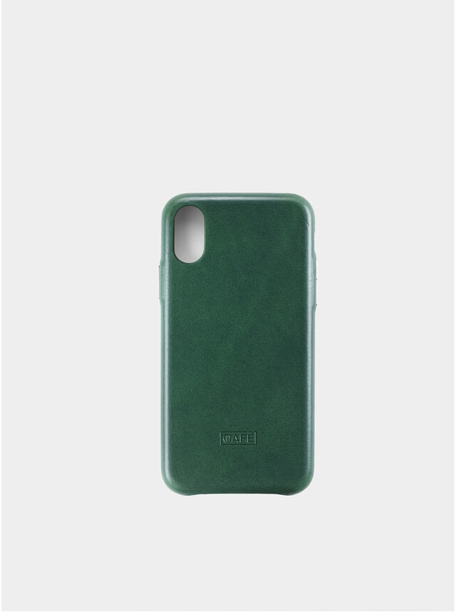 Greenery iPhone X/XS Leather Case