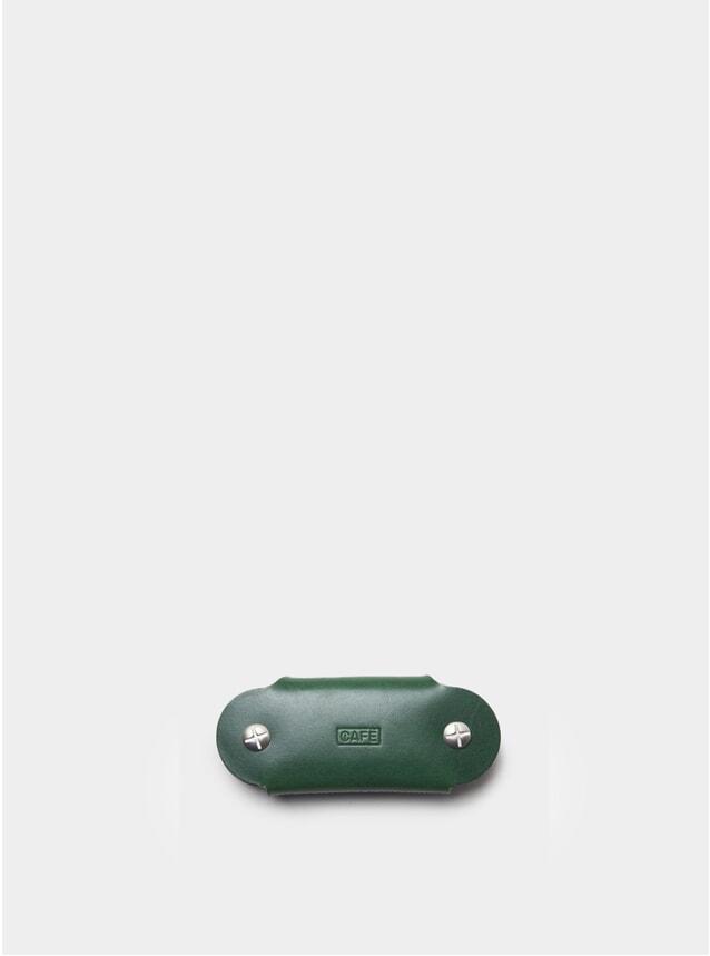 Greenery Leather Key Case