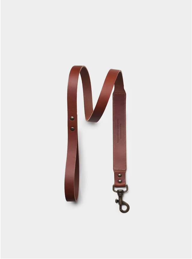 Roasted Leather Dog Leash