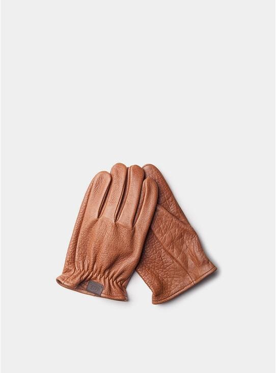 Roasted Leather Rascal Gloves