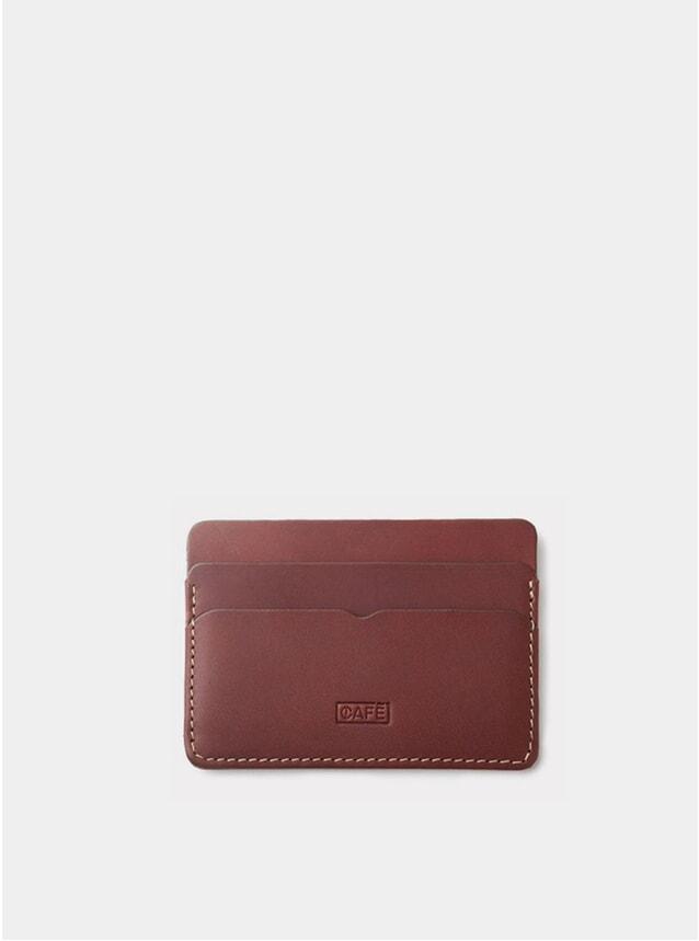 Roasted Panama+ Leather Card Holder