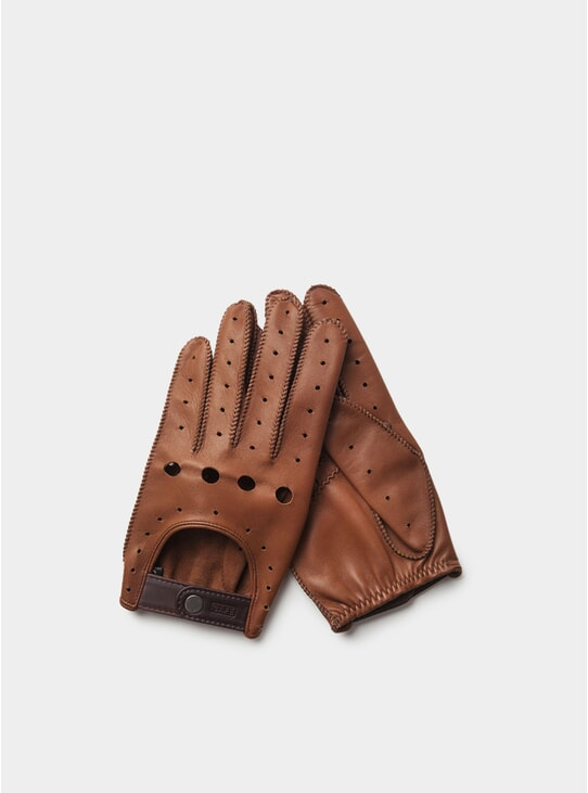 Roasted Triton Driving Gloves
