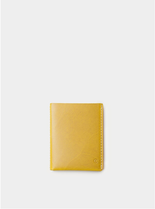 Spicy Mustard Ultra Slim Leather Wallet