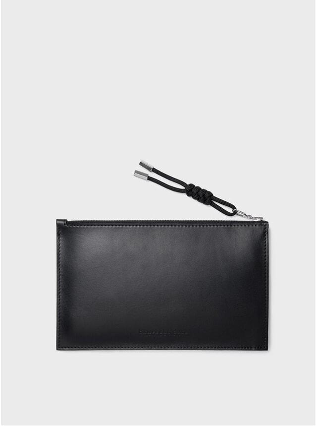 Black Simple A6 Pouch