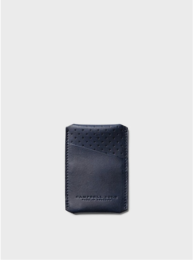Navy Simple Card Holder