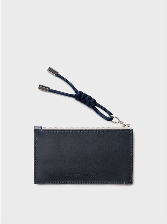 Navy Simple Coin Pouch