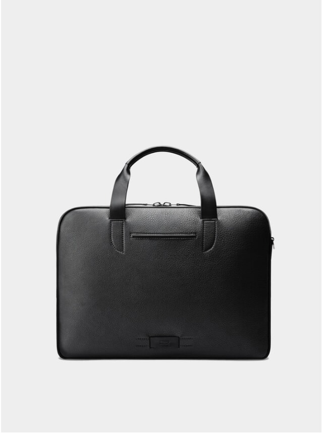 Black / Grey Bolton Bolton Slim Briefcase