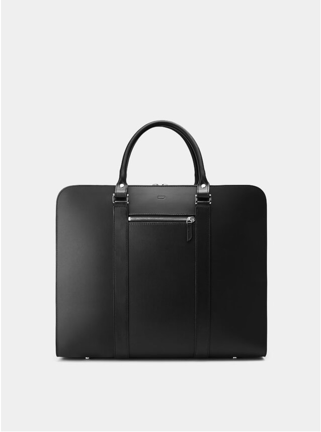 Black / Grey Lining Palissy 25HR Briefcase