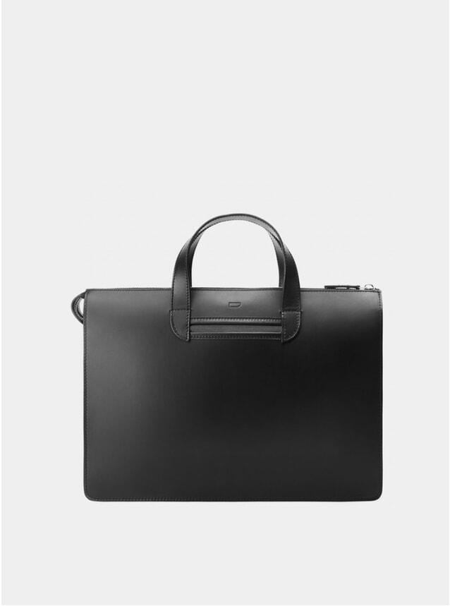 Black / Grey Vallance Briefcase