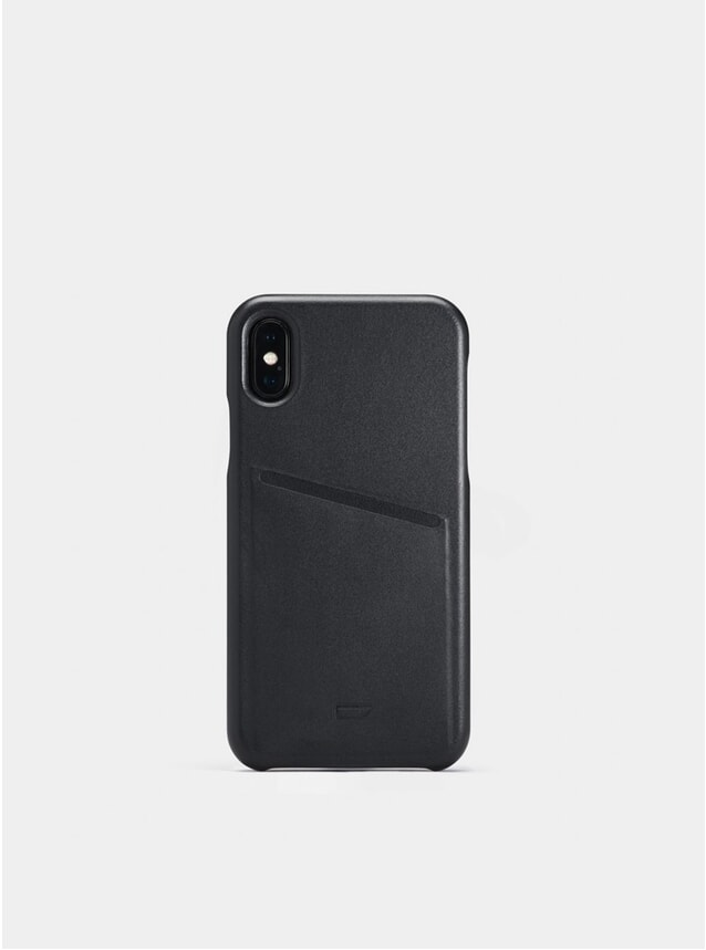 Black iPhone X Pocket Case