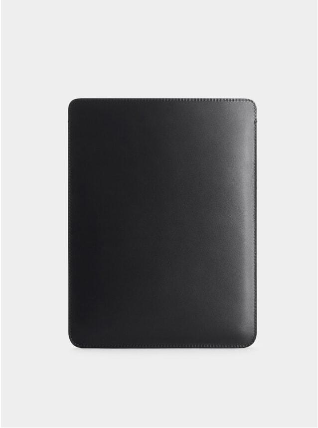 Black Leather iPad Pro 10.5 Sleeve