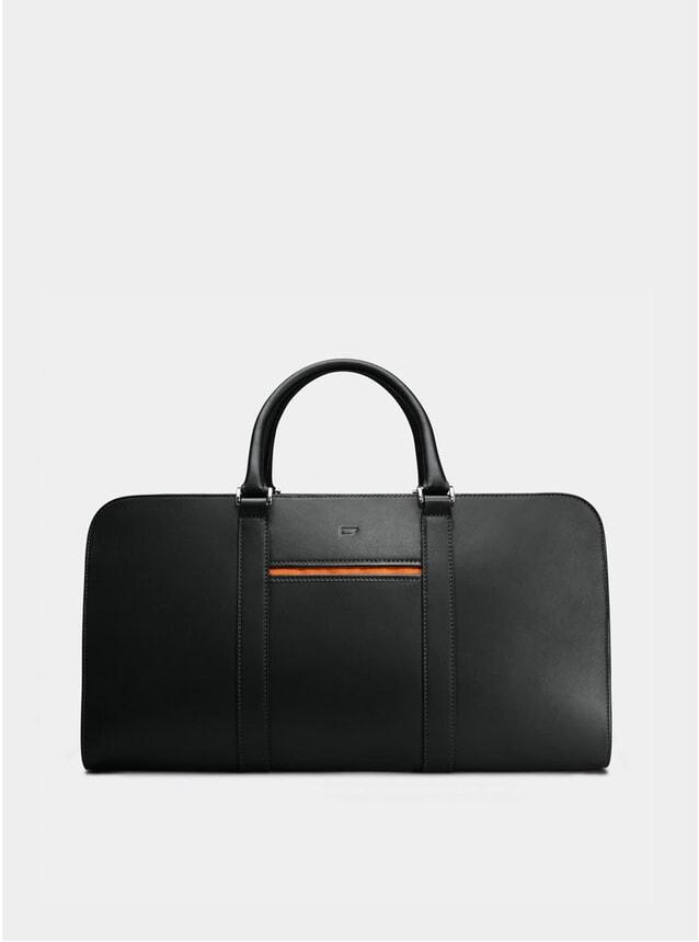 Black / Orange Lining Palissy Weekend Bag