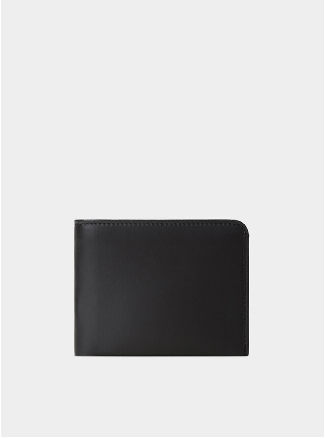 Black / Red Lining Amwell Bifold Wallet