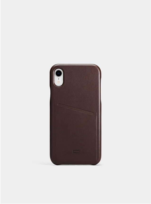 Chocolate iPhone XR Pocket Case