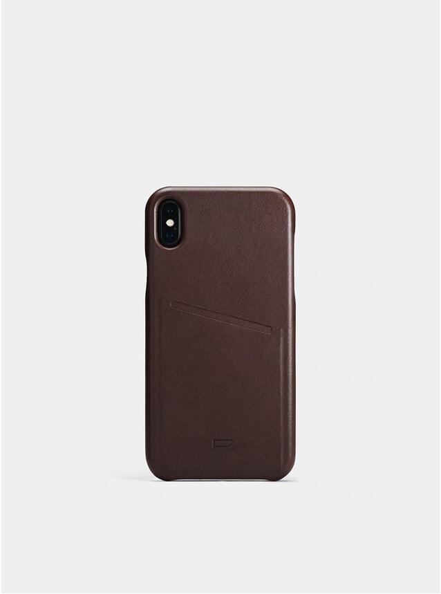 Chocolate iPhone Xs Max Pocket Case