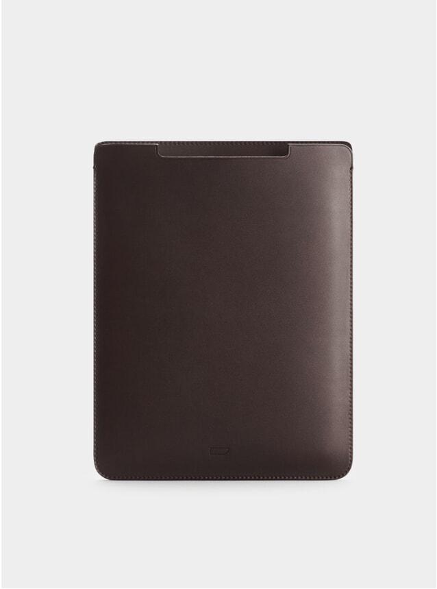Chocolate Leather iPad 9.7 Sleeve
