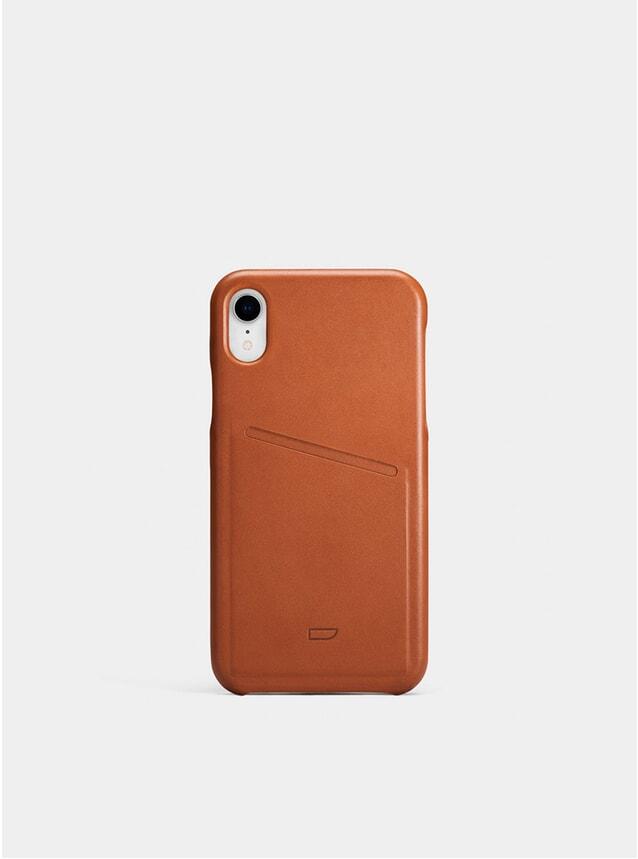 Cognac iPhone XR Pocket Case