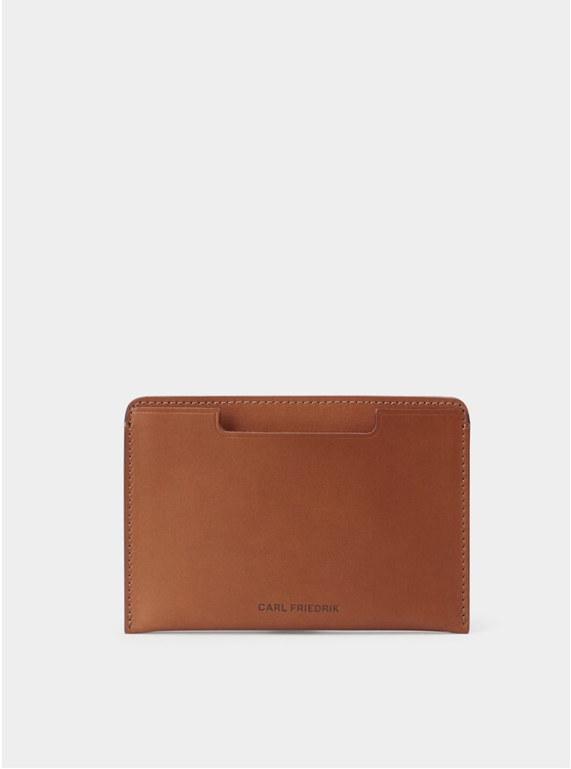 Cognac Leather Easton Passport Cover