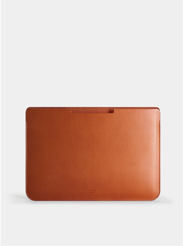 "Cognac Walton 13"" Macbook Sleeve"