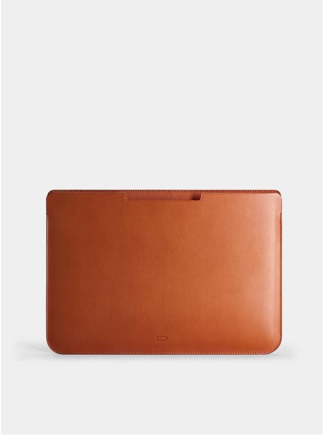 """Cognac Walton 15"""" Macbook Sleeve"""