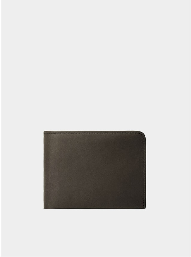 Fango Brown / Grey Lining Amwell Bifold Wallet