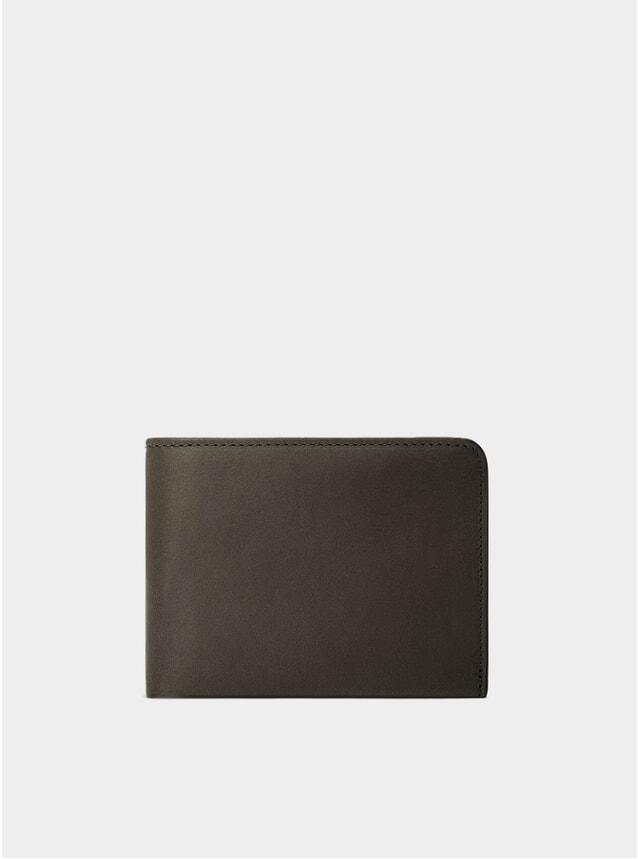 Fango-Brown / Orange Lining Amwell Bifold Wallet