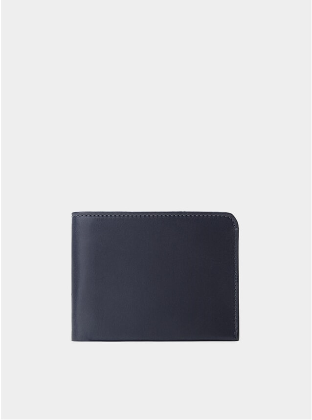 Navy / Grey Lining Amwell Bifold Wallet