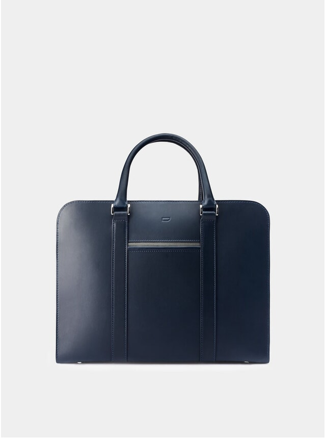Navy / Grey Lining Palissy Briefcase