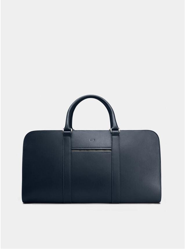 Navy / Grey Lining Palissy Weekend Bag