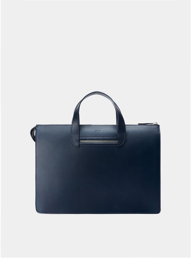 Navy / Grey Vallance Briefcase