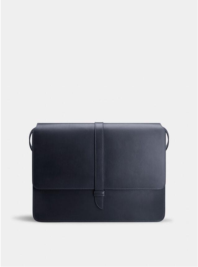 Navy / Orange Montagu Messenger Bag