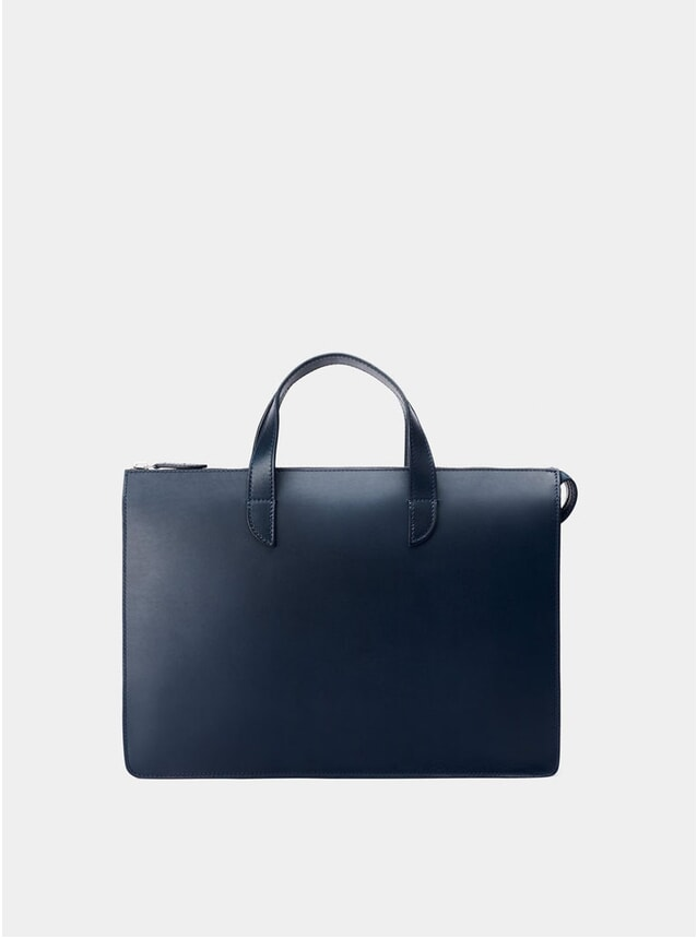 Navy / Orange Vallance Briefcase