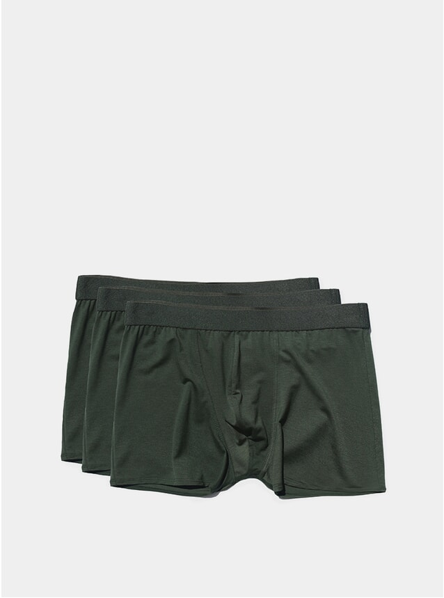 Army Green Boxer Brief 3-Pack