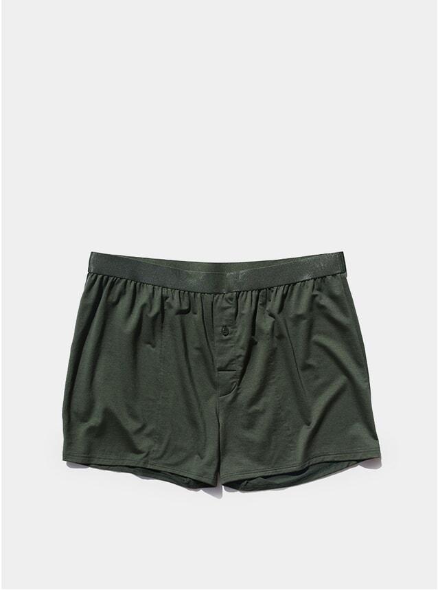 Army Green Boxer Shorts