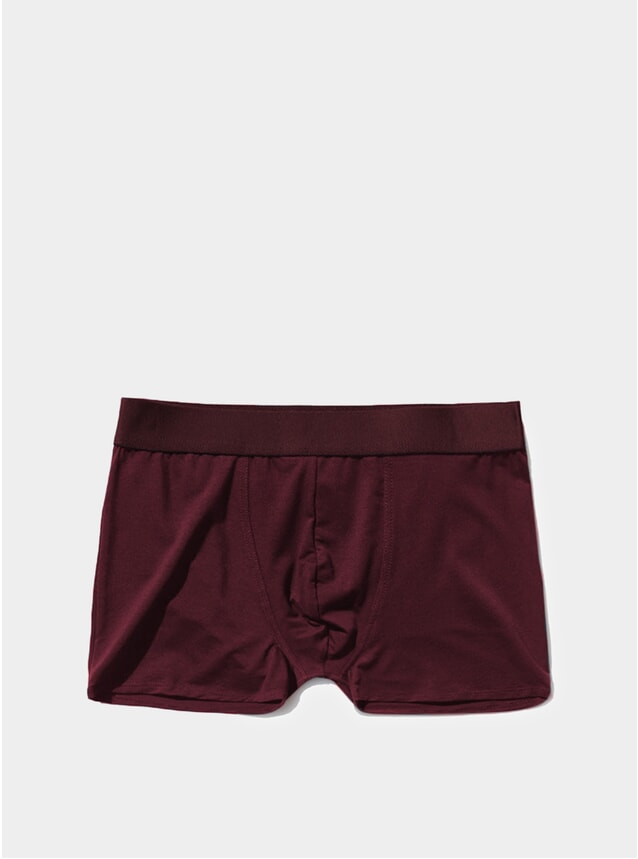 Burgundy Boxer Brief 3-Pack
