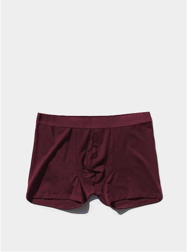 Burgundy Boxer Brief
