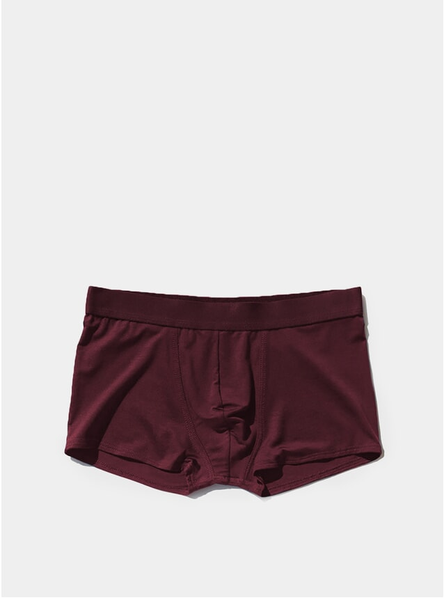 Burgundy Boxer Trunk
