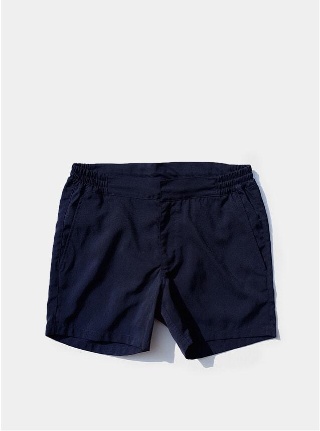 Navy Blue Aperitivo Swim Trunks