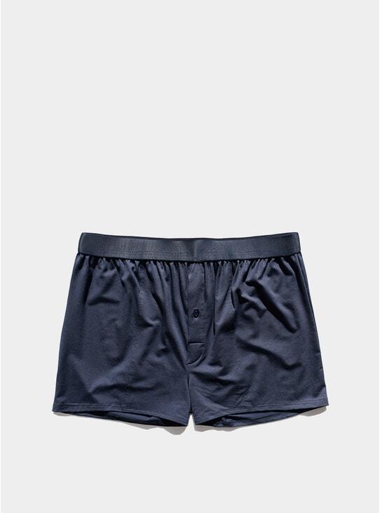 Navy Blue Boxer Shorts