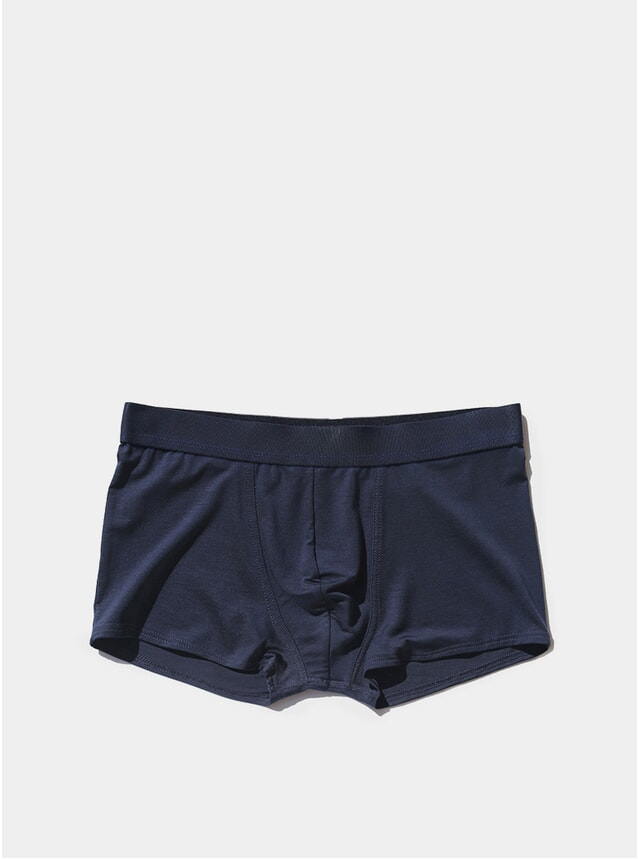Navy Blue Boxer Trunk