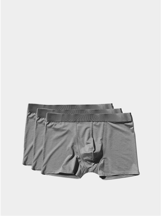 Sky Grey Boxer Brief 3-Pack