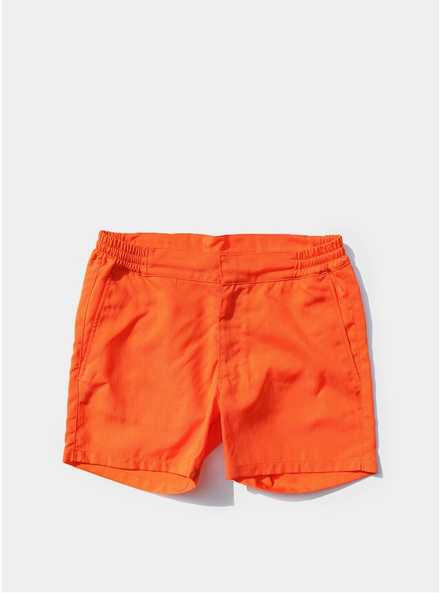 Tremezzo Orange Aperitivo Swim Trunks